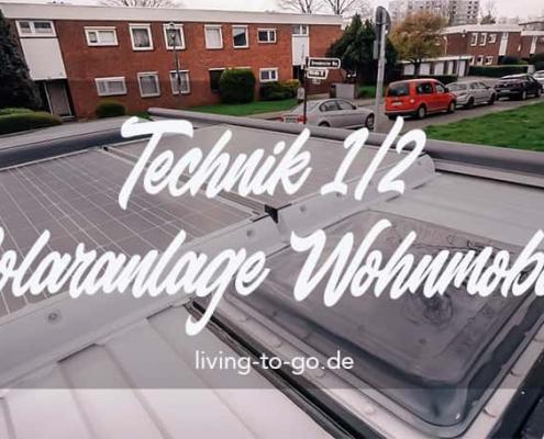 Solaranlage für Wohnmobil