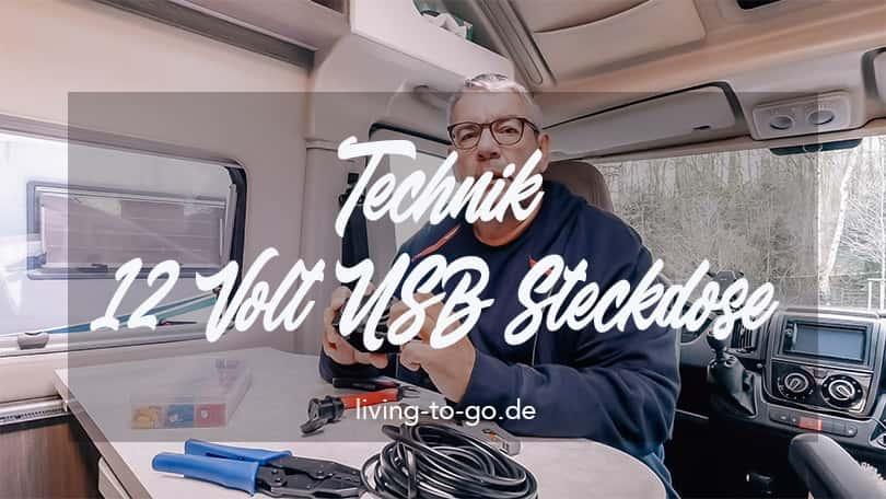 Technik Kfz 12 Volt USB Steckdose
