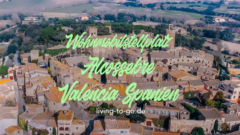 Wohnmobilstellplatz Alcossebre Spanien