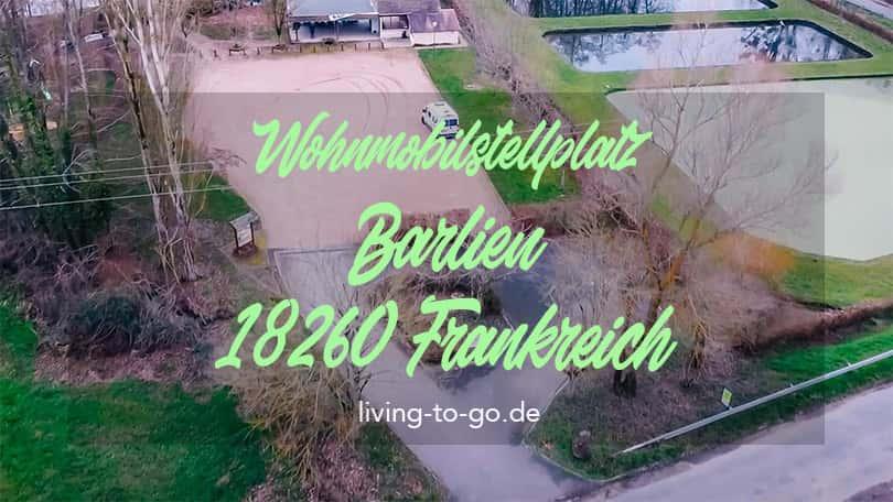 Wohnmobilstellplatz Barlieu