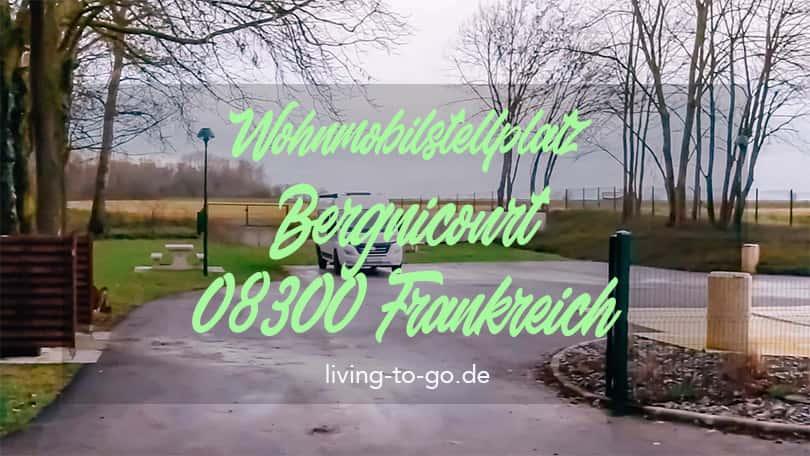 Wohnmobilstellplatz Bergnicourt