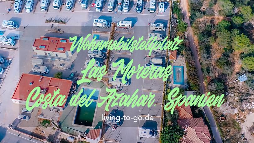 Wohnmobilstellplatz Moreras Spanien