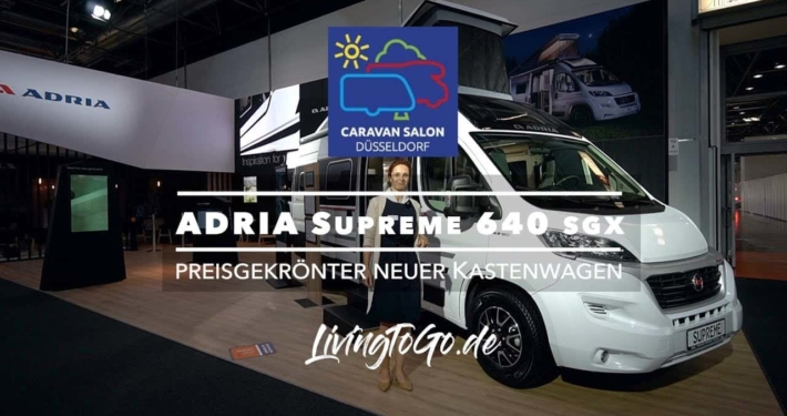 Roomtour ADRIA Supreme 640 SGX