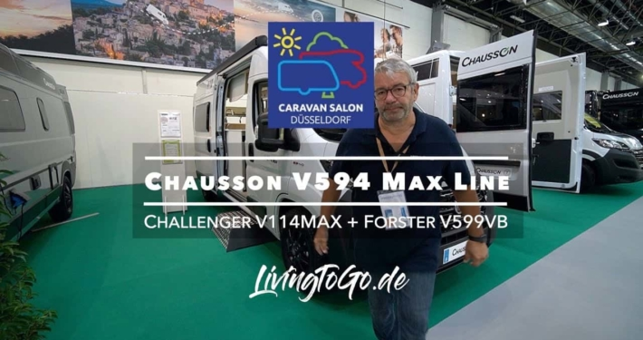 Roomtour Chausson 594 Max Line