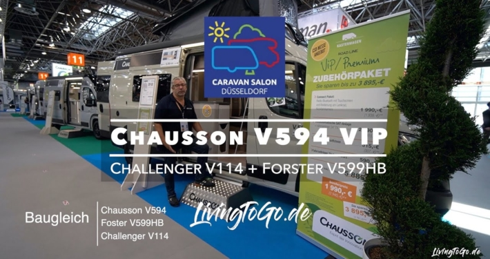 Roomtour Chausson 594 VIP