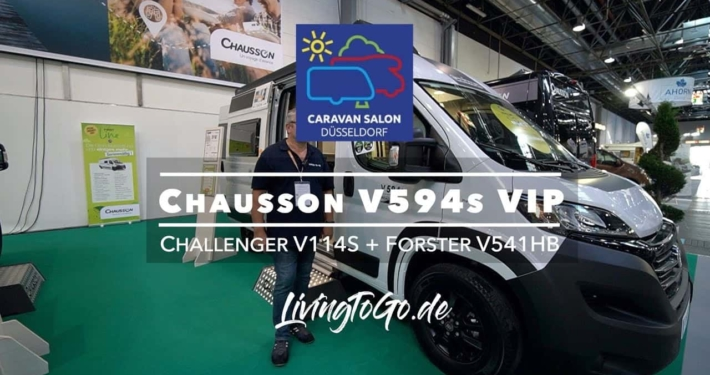 Roomtour Chausson 594s VIP