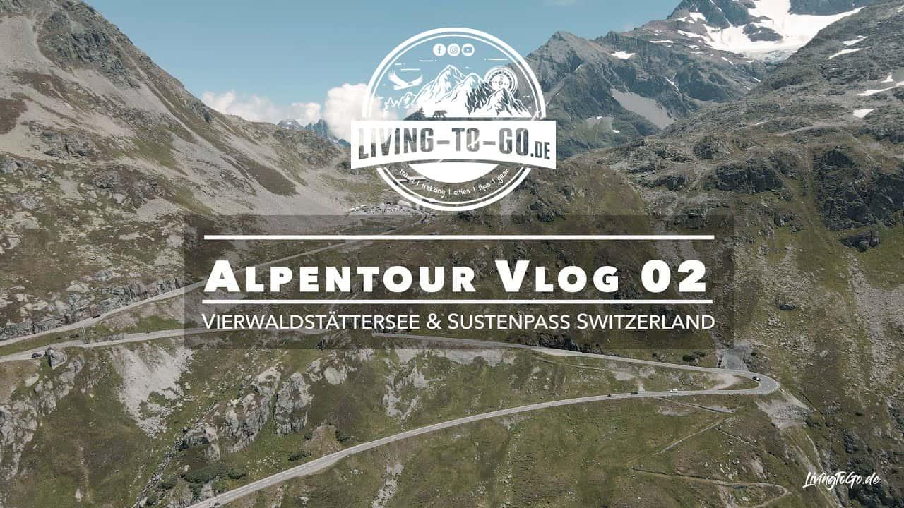 Vierwaldstättersee und Sustenpass Switzerland
