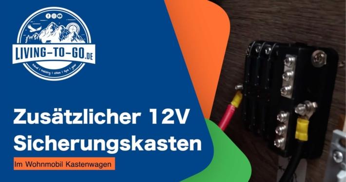 12V Sicherungskasten