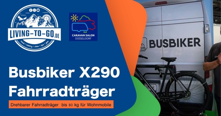 Busbiker X290 der drehbarer Fahrradträger