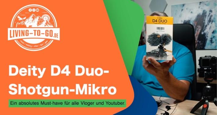 Deity D4 Duo-Shotgun-Nieren-Mikrofon