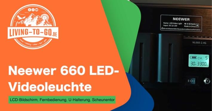 Neewer 660 LED-Videoleuchte
