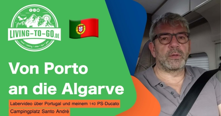 Porto an die Algarve
