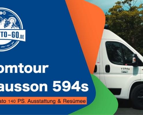 Roomtour Chausson 594s