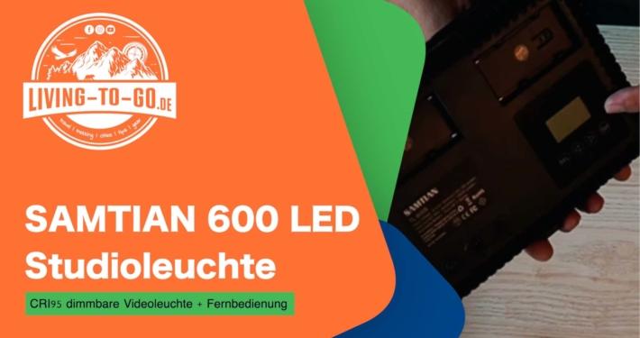 SAMTIAN 600 LED Studioleuchte