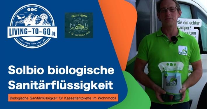 Solbio biologische Sanitärflüssigkeit