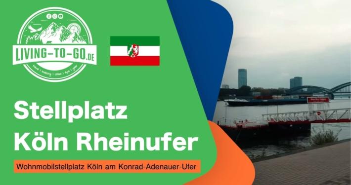 Stellplatz Köln Rheinufer