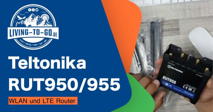 Teltonika WLAN und LTE Router RUT950
