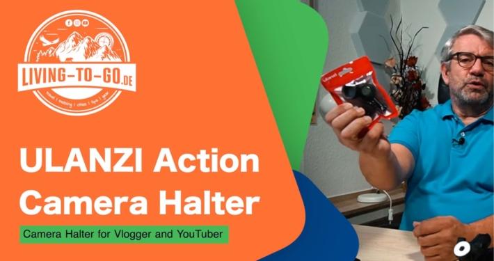ULANZI Must Have GoPro-, DJI-, Action Camera Halter