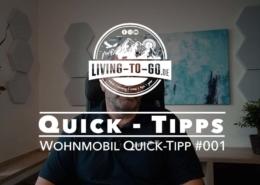 Wohnmobil Quick-Tipps für Camper