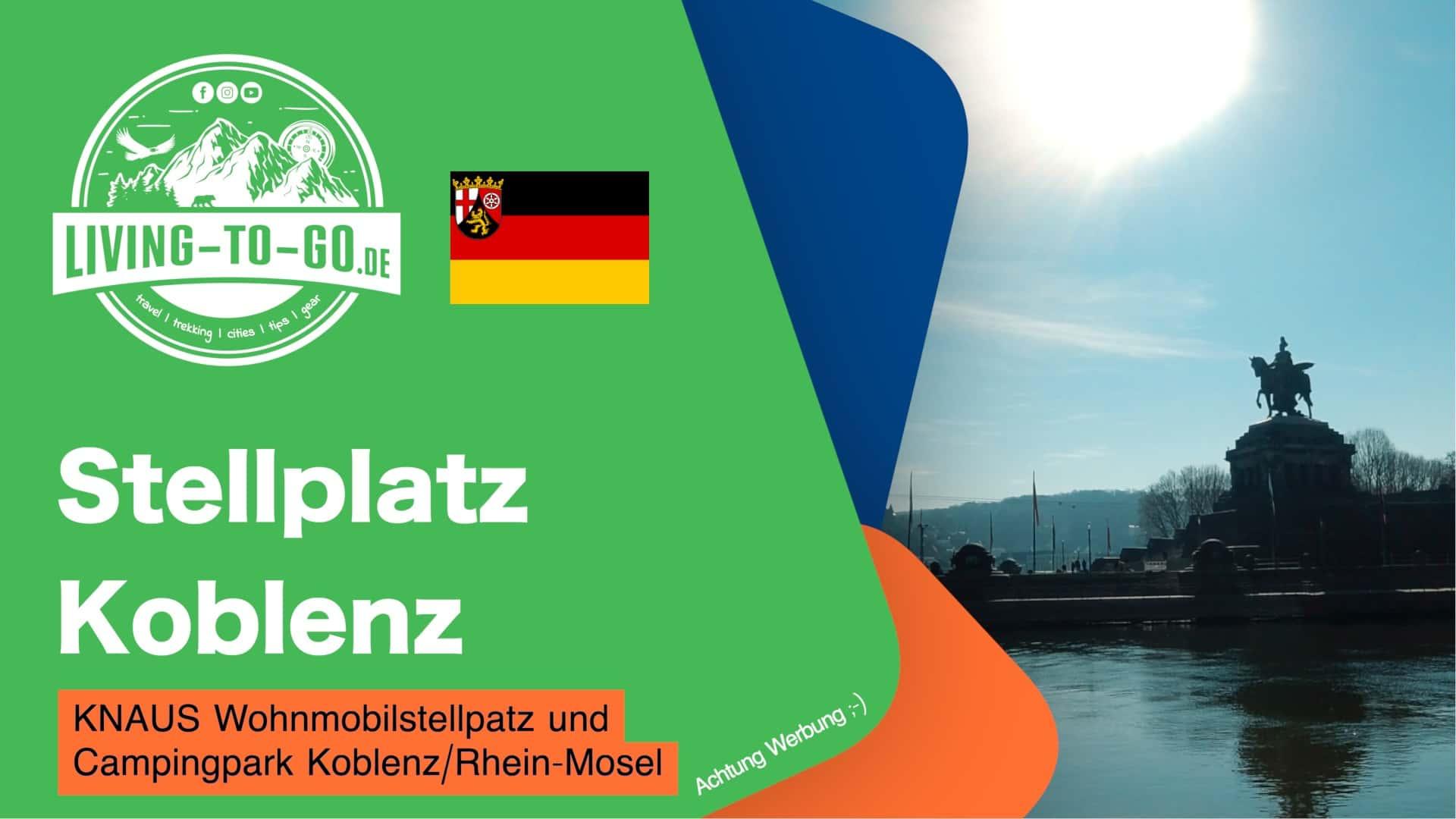 Stellplatz Koblenz am deutschen Eck