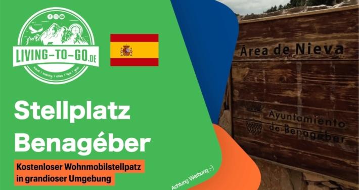 Stellplatz Benageber Spanien