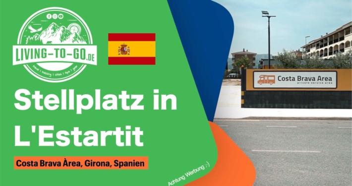 Stellplatz Costa Brava Àrea L'Estartit Spanien