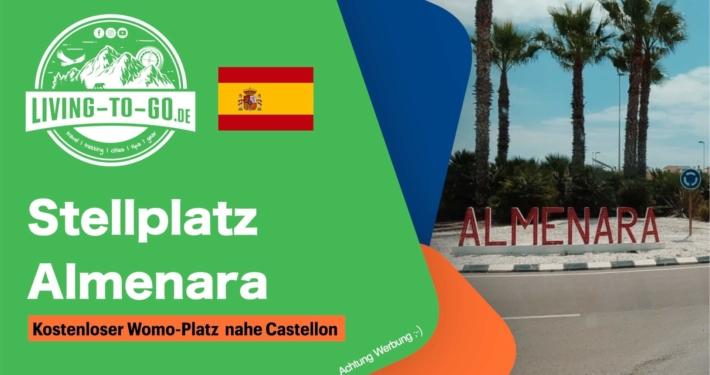 Wohnmobilstellplatz Almenara Spanien