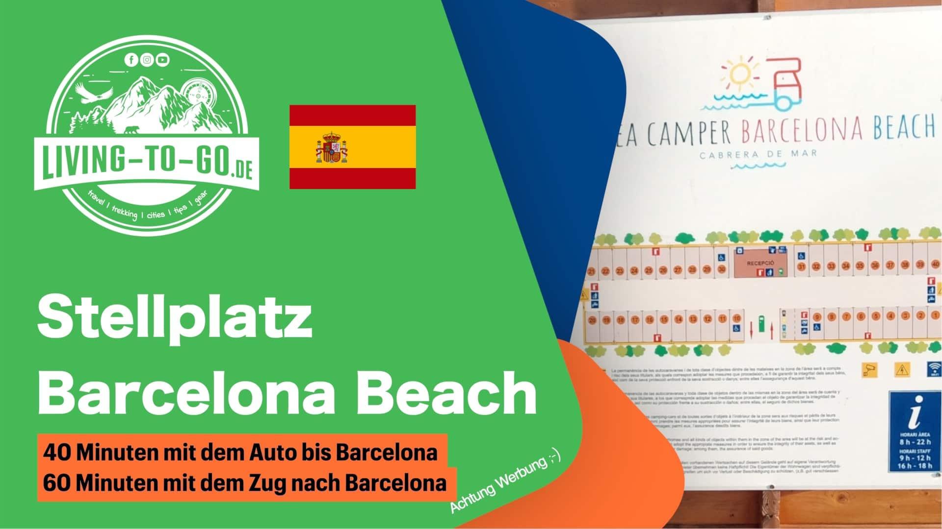 Stellplatz Barcelona Beach
