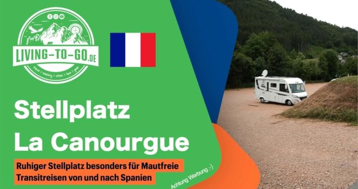 Stellplatz La Canourgue Frankreich