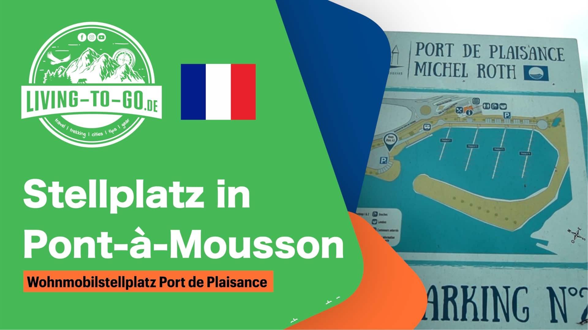 Stellplatz Pont-á-Mousson