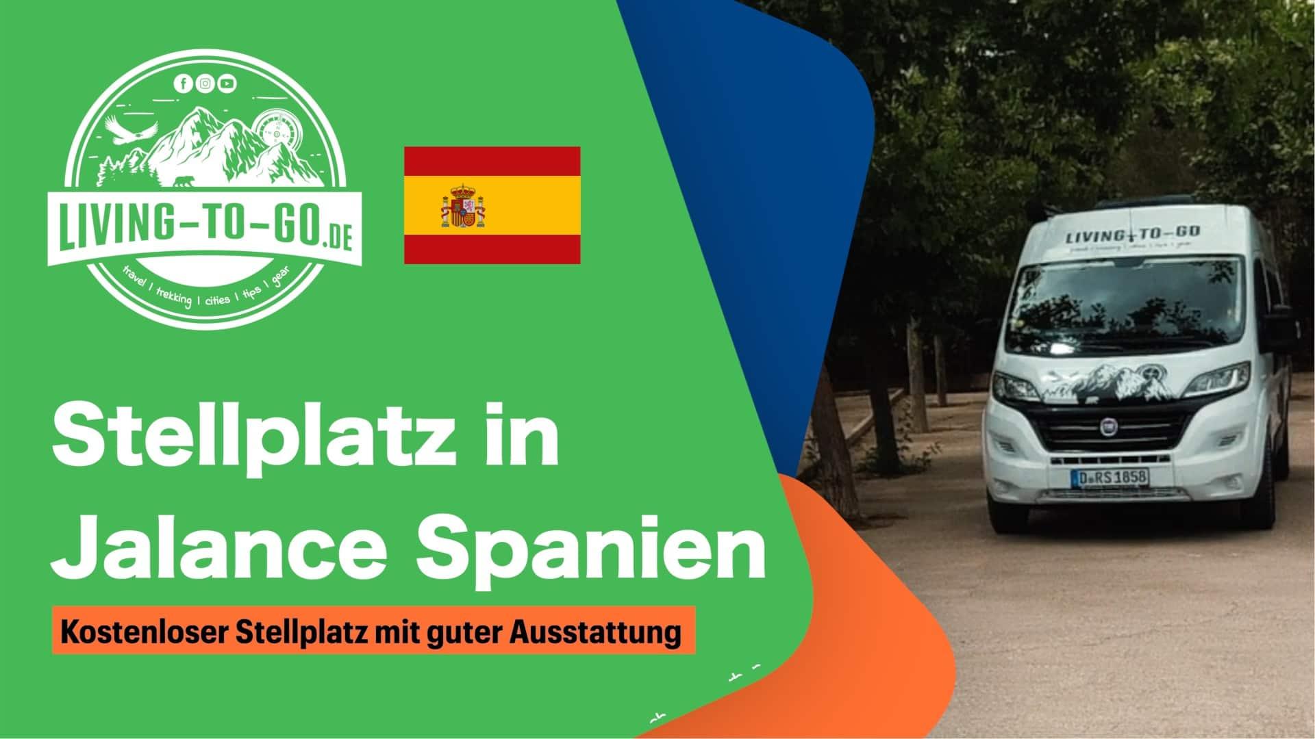 Wohnmobilstellplatz Jalance Spanien