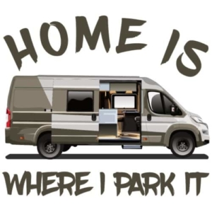 home-is-where-i-park-it-maenner-premium-t-shirt