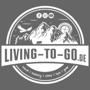 livingtogo-fan-shop-logo-weiss-maenner-premium-t-shirt