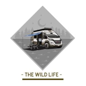 the-wild-life-kastenwagen-maenner-premium-t-shirt