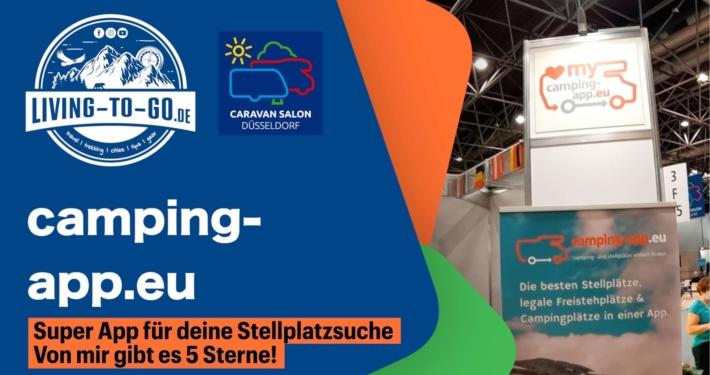 Camping-App.eu Stellplatzsuche