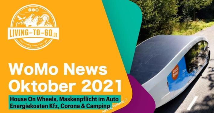 Wohnmobil News Oktober 2021
